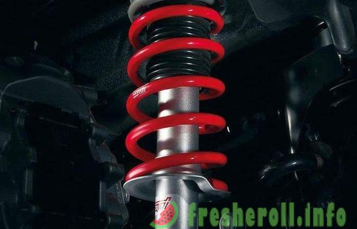 Driver errors, which reduce the service life of the shock absorbers
