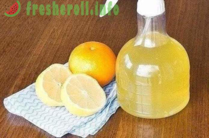 The use of citric acid in the household