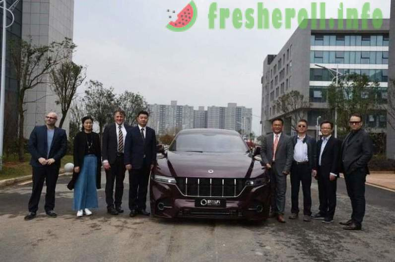 China has developed a car on hydrogen fuel with a power reserve of 1,000 kilometers
