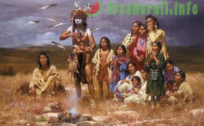Myths and truth about the American Indians