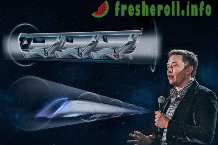 Company Elon Musk has built the first vacuum high-speed train