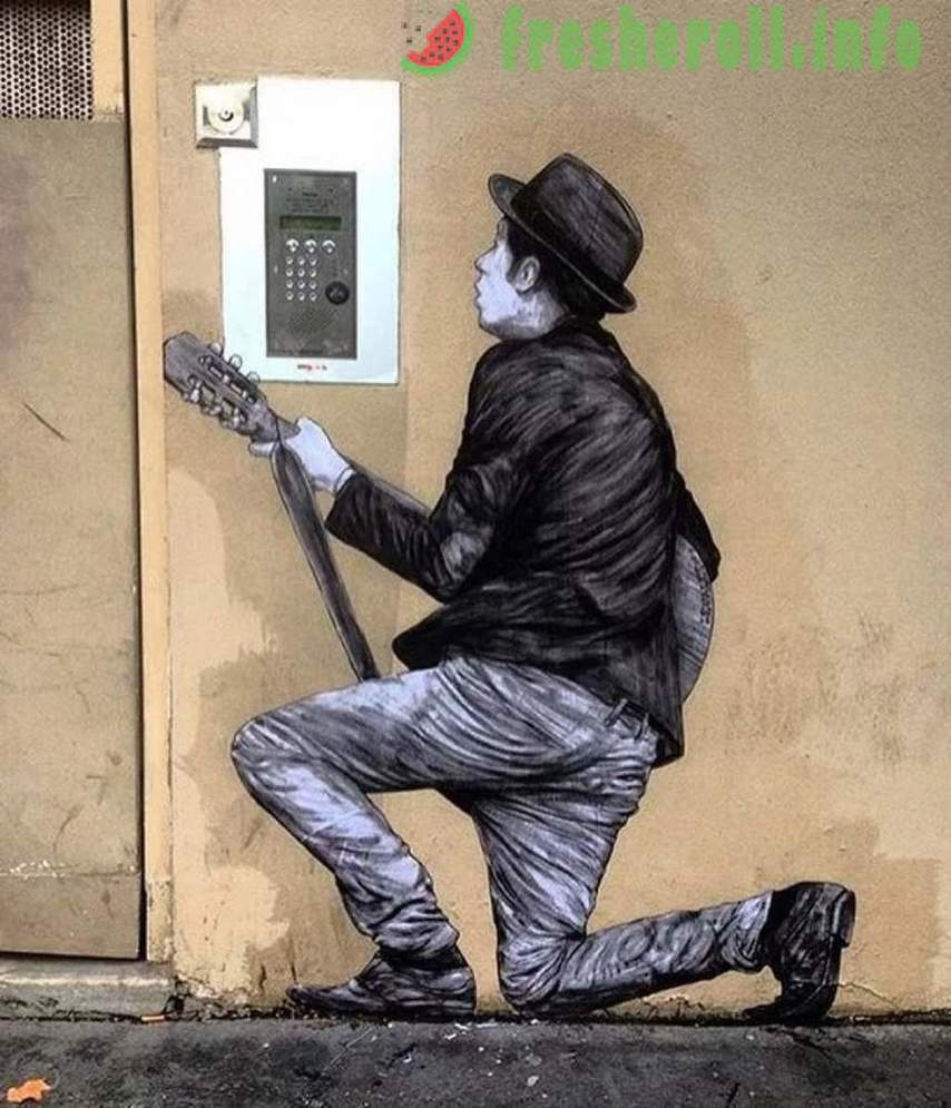 20 works of street art, from which the heart beats faster