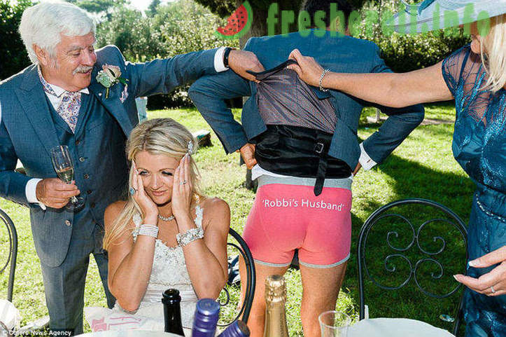 Wedding photos that any bride would prefer to burn
