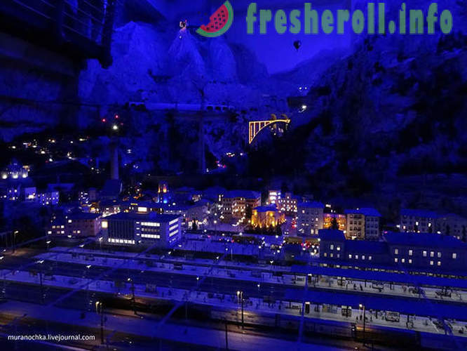 Walk through the Miniatur Wunderland in Hamburg