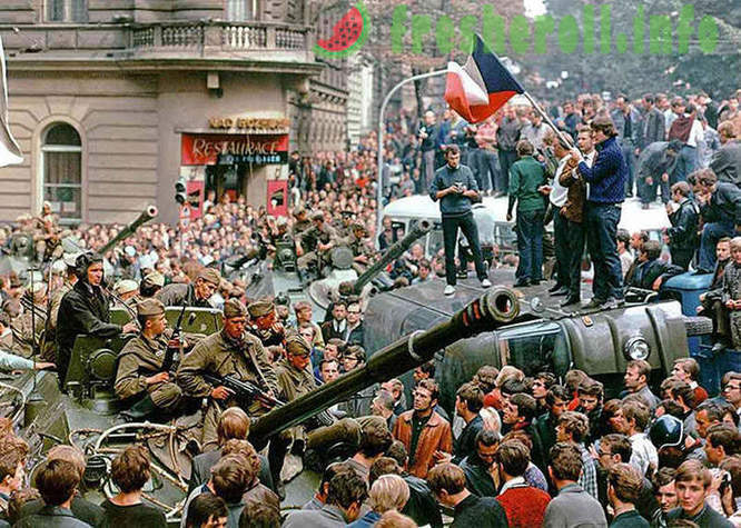 A look at the invasion of Czechoslovakia 45 years later