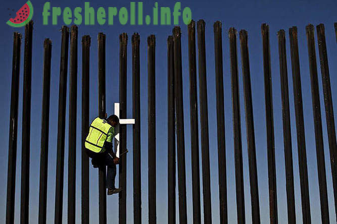 On the US-Mexico border