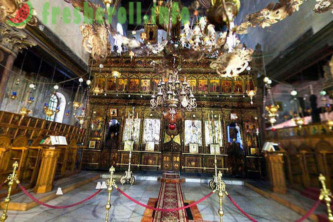 Walk in the place where Jesus Christ was born