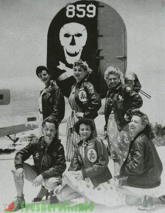 Jackets A-2 US airmen during the Second World War