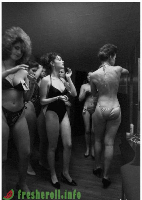 The first beauty contest in the USSR