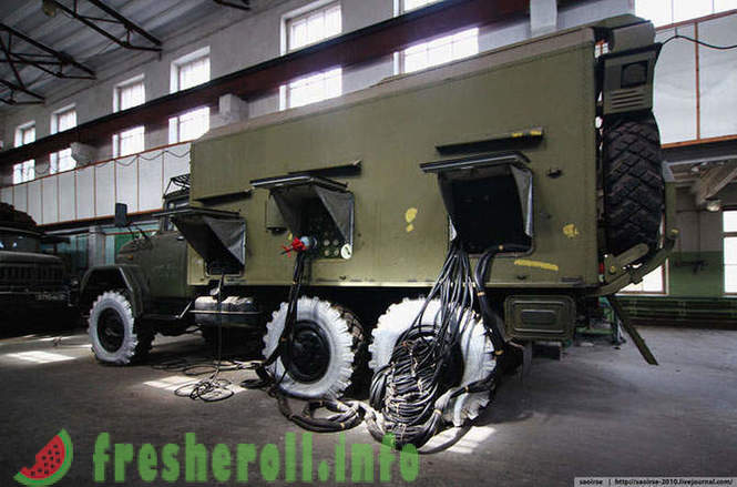 Semi-abandoned military unit